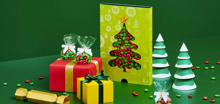 M&M's Personnalisés pour Noël