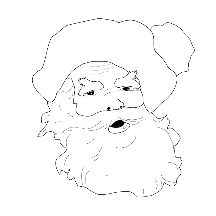 Coloriage de p re no l imprimer - Image pere noel a colorier ...