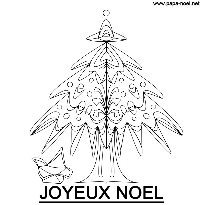 coloriage sapin de noel. Black Bedroom Furniture Sets. Home Design Ideas